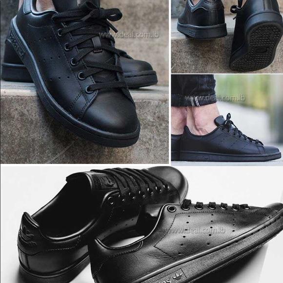 adidas stan smith negro outfit